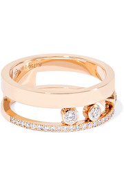 Move Romane 18-karat rose gold diamond ring