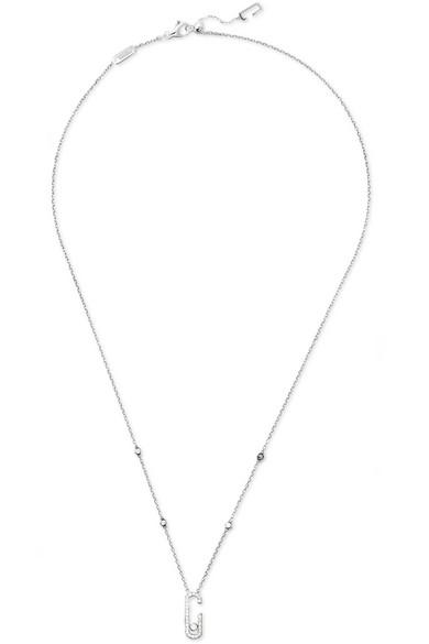 MESSIKA Move Addiction 18-karat white gold diamond necklace