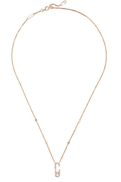 MESSIKA Move Addiction 18-karat rose gold diamond necklace