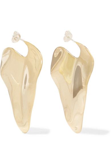 ARIANA BOUSSARD-REIFEL Coretta Gold-Tone Earrings