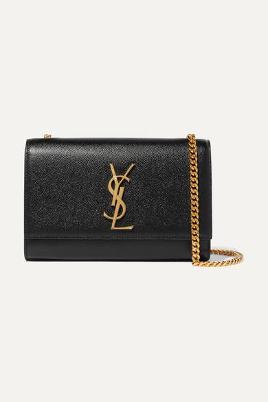 Saint Laurent. Monogramme Kate small textured-leather shoulder bag 85c5ab1d137d4
