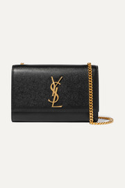 Saint Laurent Monogramme Kate small textured-leather shoulder bag