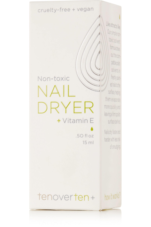 TenOverTen Non-Toxic Nail Dryer + Vitamin E, 15ml