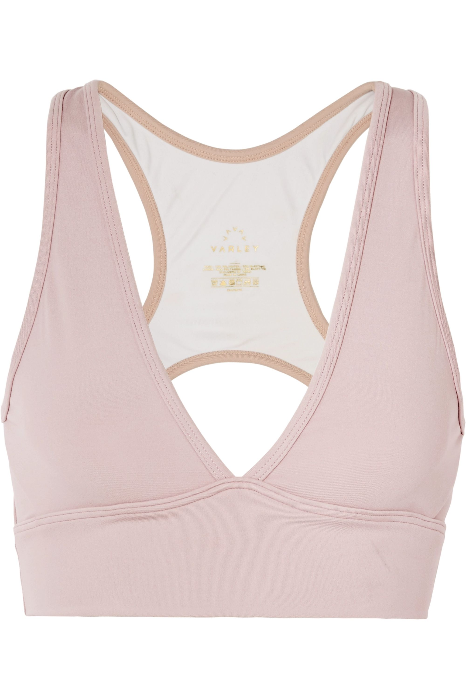 Varley Brooks cutout stretch sports bra