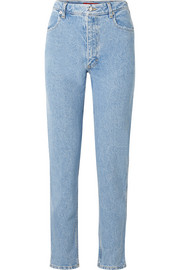 Eckhaus Latta El high-rise straight-leg jeans