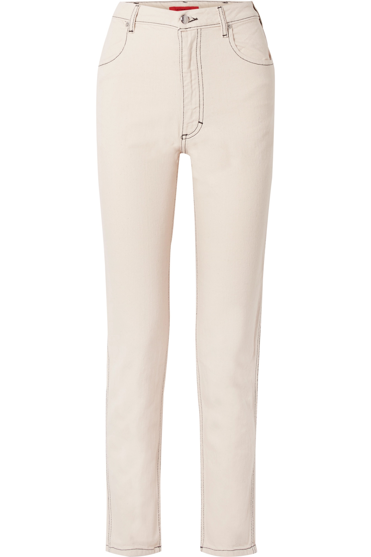 Eckhaus Latta El high-rise straight-leg jeans
