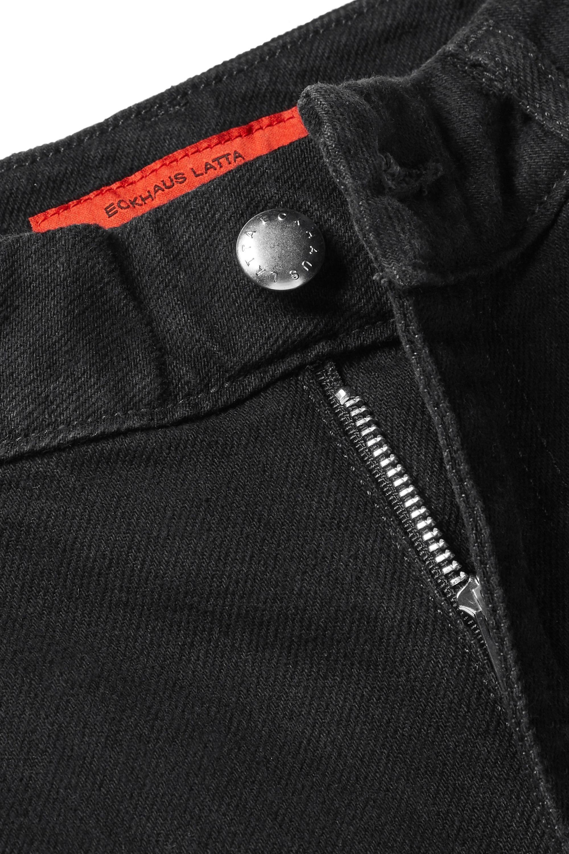 Eckhaus Latta El 高腰直筒牛仔裤