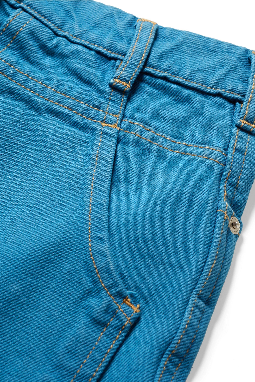 Eckhaus Latta El hoch sitzende Jeans mit geradem Bein