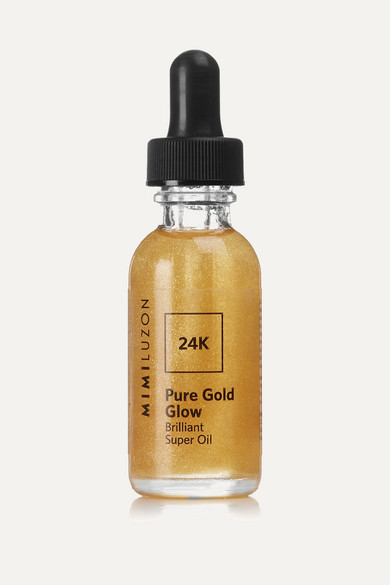 MIMI LUZON 24K PURE GOLD GLOW BRILLIANT SUPER OIL, 30ML - COLORLESS