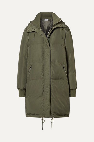 ALL ACCESS | All Access - Oasis Hooded Shell Down Jacket - Army green | Goxip