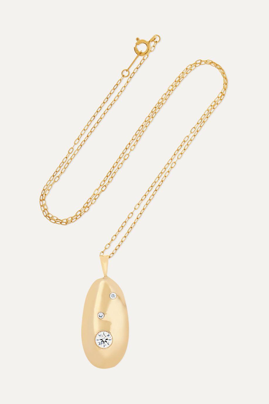 CVC Stones V1 Kette aus 18 Karat Gold mit Diamanten