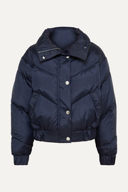 The Snowbird quilted down ski jacket