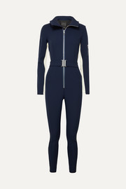 The Aspen striped stretch ski suit