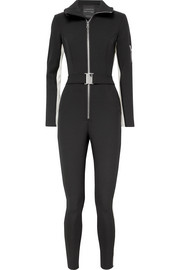 The Aspen striped ski suit