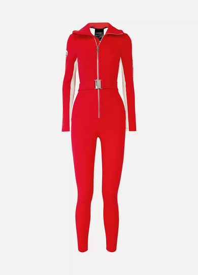 The Aspen Striped Ski Suit