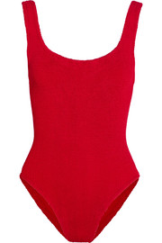 Hunza G Seersucker swimsuit