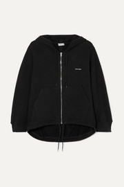 Balenciaga Cocoon printed stretch cotton-blend jersey hoodie