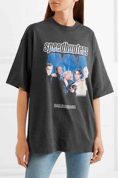 f61d88b0435b Balenciaga. Printed cotton-jersey T-shirt. £400. Play