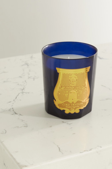 Cire Trudon Estérel Scented Candle 270g - Brightness Of Mimosa In Blue