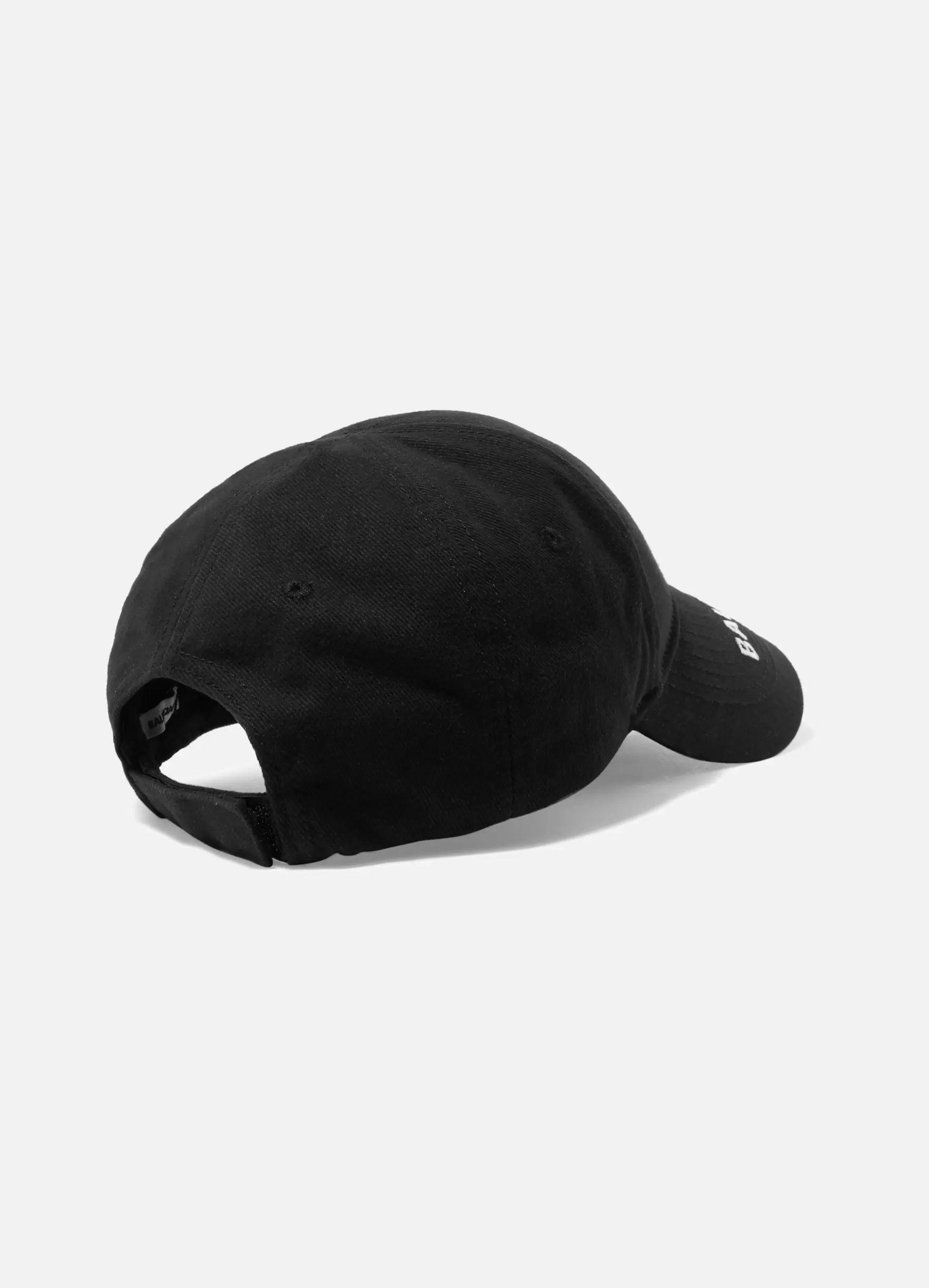 Balenciaga + World Food Programme embroidered cotton-twill baseball cap