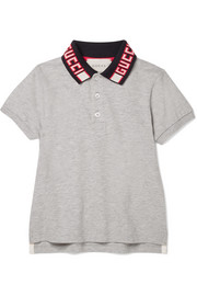 Ages 4 - 12 cotton-blend piqué polo shirt