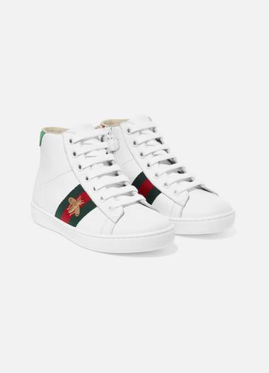 16de91229d Size 27 - 33 Ace logo-print leather high-top sneakers