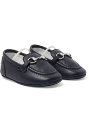 Size 16 - 19 leather loafers