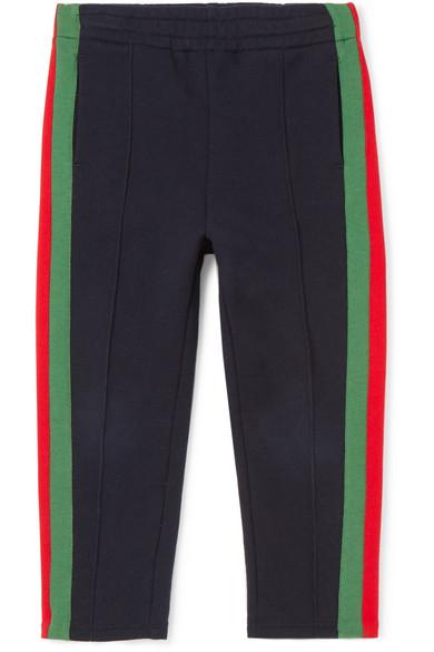 675c38689 Gucci Kids   Ages 4 - 12 striped cotton-jersey track pants   NET-A ...