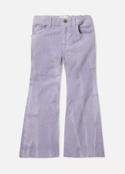 Ages 4 - 12 appliquéd cotton-blend corduroy pants