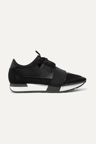 Balenciaga Sneakers Race Runner leather, mesh and neoprene sneakers