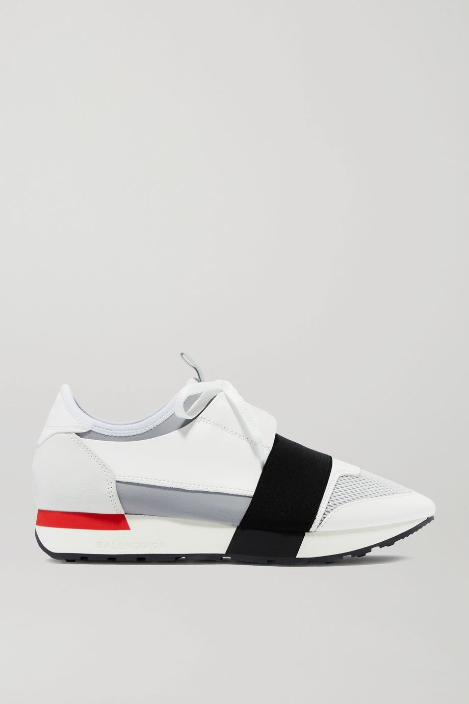 Balenciaga Race Runner leather, suede, mesh and neoprene sneakers
