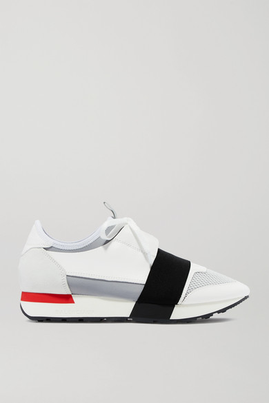 Balenciaga Sneakers Race Runner leather, suede, mesh and neoprene sneakers