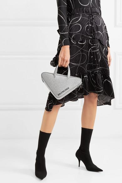Balenciaga Triangle Duffle XS leather tote in 2019