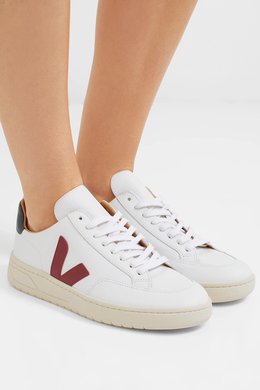 White Bastille leather sneakers | Veja
