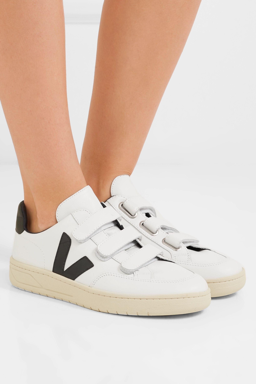White V-Lock leather sneakers | Veja
