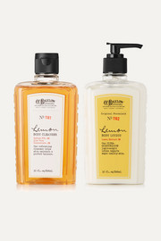Lemon Body Lotion and Cleanser Set