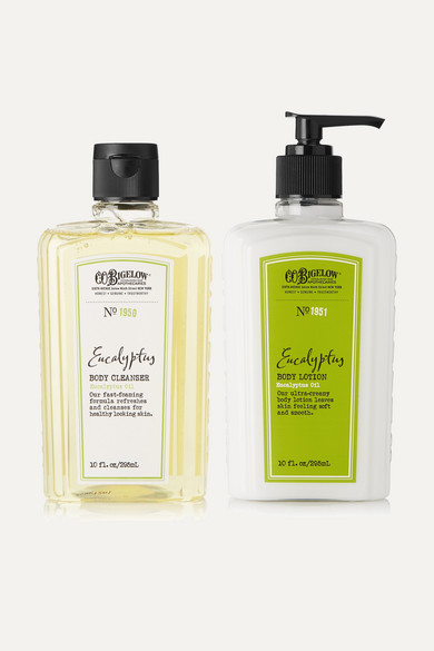 C.O.BIGELOW Eucalyptus Body Lotion And Cleanser Set - Colorless