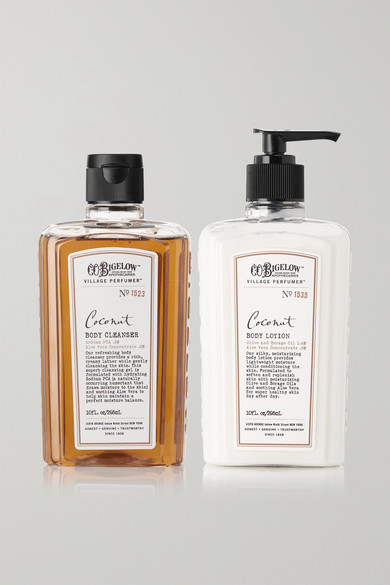 C.O. BIGELOW Coconut Body Lotion And Cleanser Set - Colorless