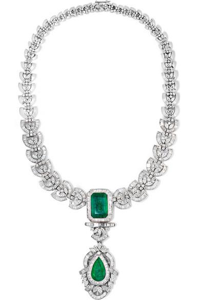 18-karat White Gold Multi-stone Necklace - one size Amrapali c8xUdnp