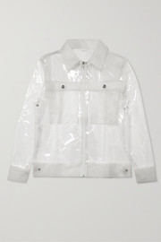 Rains Glossed-TPU jacket