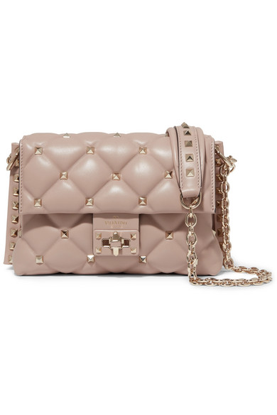 ca76e6fdd03 Valentino. Valentino Garavani Candystud medium quilted leather shoulder bag