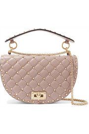 Valentino Valentino Garavani The Rockstud Spike leather shoulder bag