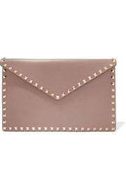 Valentino Valentino Garavani The Rockstud leather pouch