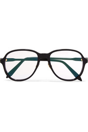 Victoria Beckham D-frame acetate optical glasses