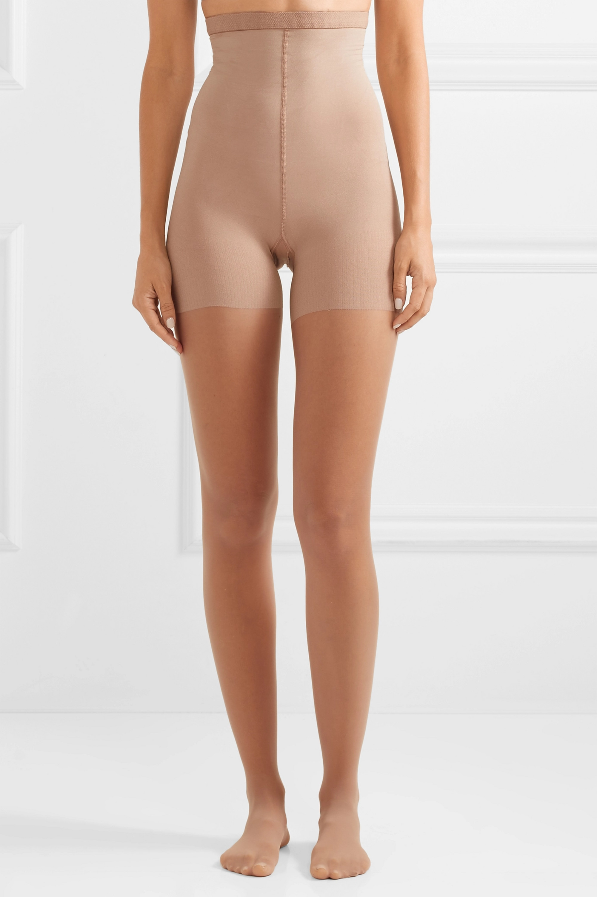 Spanx Luxe Leg high-rise 15 denier shaping tights