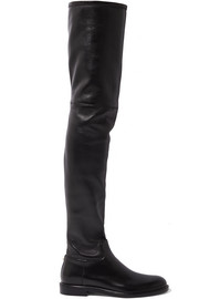 Valentino Valentino Garavani The Rockstud leather thigh boots