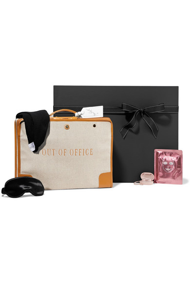 NET-A-PORTER KITS Frequent Flyer Kit in Clear
