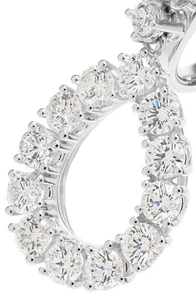 Chopard Lheure Du Diamant 18-karat White Gold Diamond Earrings KoJpVvfKIZ