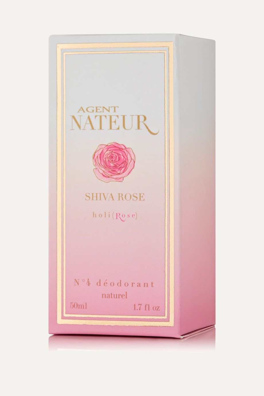 Agent Nateur holi(Rose) No.4 Déodorant, 50 ml – Deo-Stick