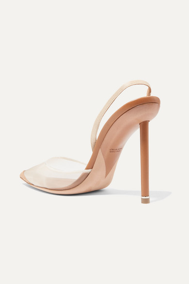 8ea081e94163 Alexander Wang. Alix mesh and suede slingback pumps.  595. Exclusive. Zoom  In